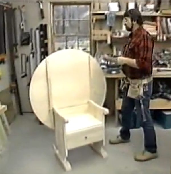 Chair Table Woodworking Plan