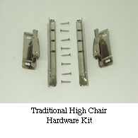 01-6700 Highchair Hardware Kit