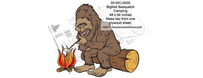 Bigfoot Sasquatch Camping