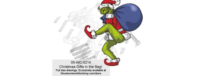 Christmas Gifts in the Bag! Yard Art Woodworking Pattern