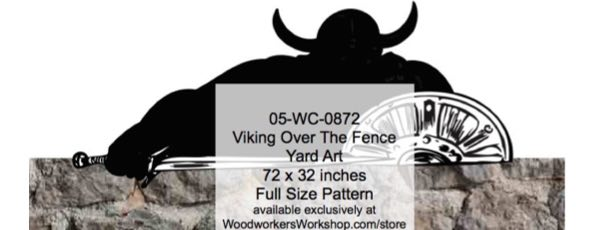 Viking Over The Fence
