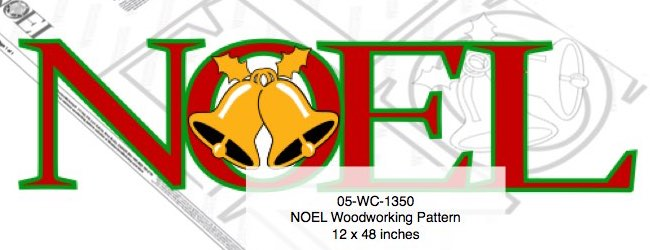 Noel Yard Art Woodworking Pattern