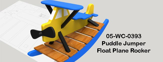 Puddle Jumper Airplane Woodworking Plans