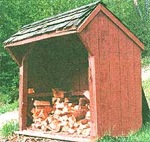 Shed, Timberframe Wood