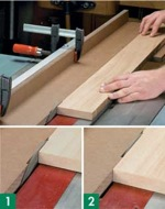 Jig, Tablesaw Jointing