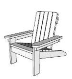 Childs Large Adirondack Chair