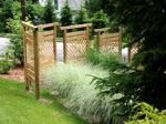 Privacy Wall with Fence Panels