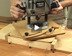 Jig, Router Circle (Video)