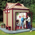 Shed, Gabled Garden (PDF)