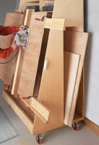 Lumber Cart Rack and Panel cuttter (PDF)