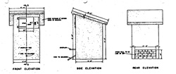 Shed, Spring Water Collector Storage (PDF)