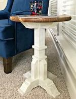 Pedestal Accent Table