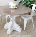 Round Pedestal Table PDF