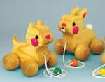 Bunny and Kitten Pull Toys PDF