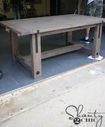 Farmhouse Industrial Dining Table PDF