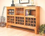 Cabinet, Wine Buffet and Sideboard Server (PDF)
