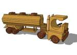 Truck and Tank Trailer Toy