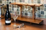 Wineglass Display Shelf