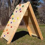 Build a Kids Climbing Wall