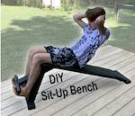 Wooden Sit-Up Bench