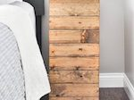 Wood Planked Nightstand