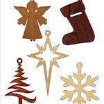 Scroll Saw Christmas Ornament Patterns