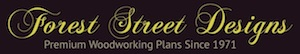 Forest Street Designs® full size woodworking plans and patterns