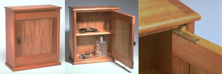 Keepsake Cabinet Woodworking Plan