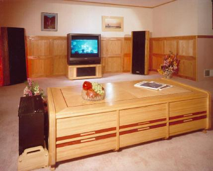 04-FS-104 - Stereo Cabinet Woodworking Plan