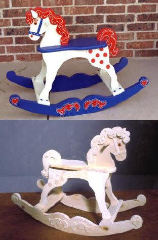 Rocking Horse Woodworking Plan.