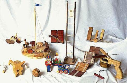 04-FS-113 - All American Novelties Woodworking Plan Set - 12 designs included.