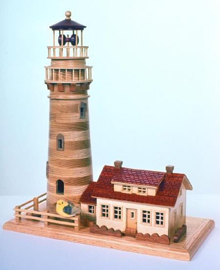 New England Lighthouse Woodworking Plan