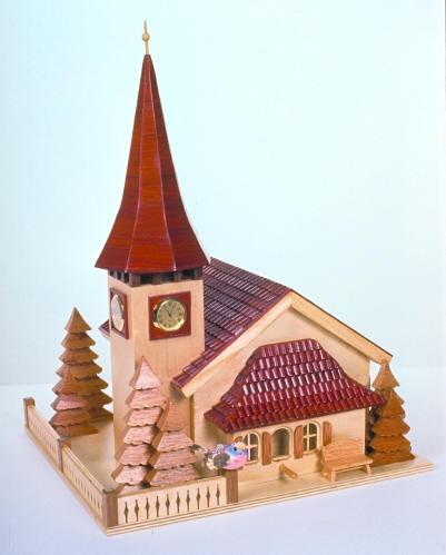 04-FS-129 - Swiss Church Birdhouse Woodworking Plan
