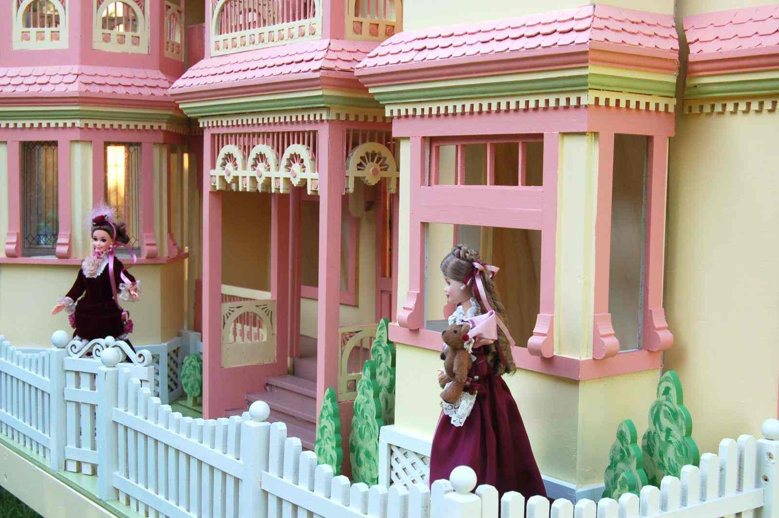 04 Fs 152 Victorian Barbie Doll House Woodworking Plan
