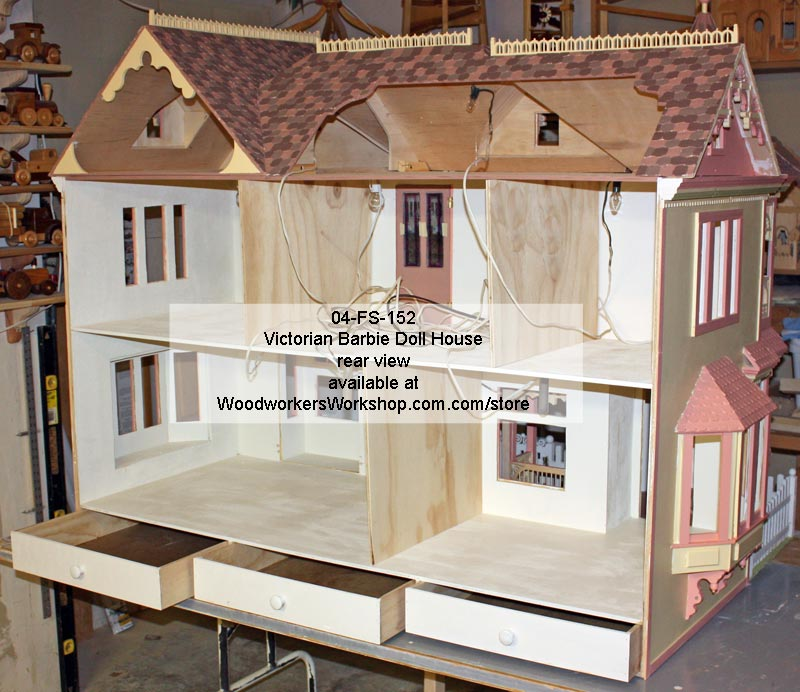 Victorian Dollhouse Plan Toys