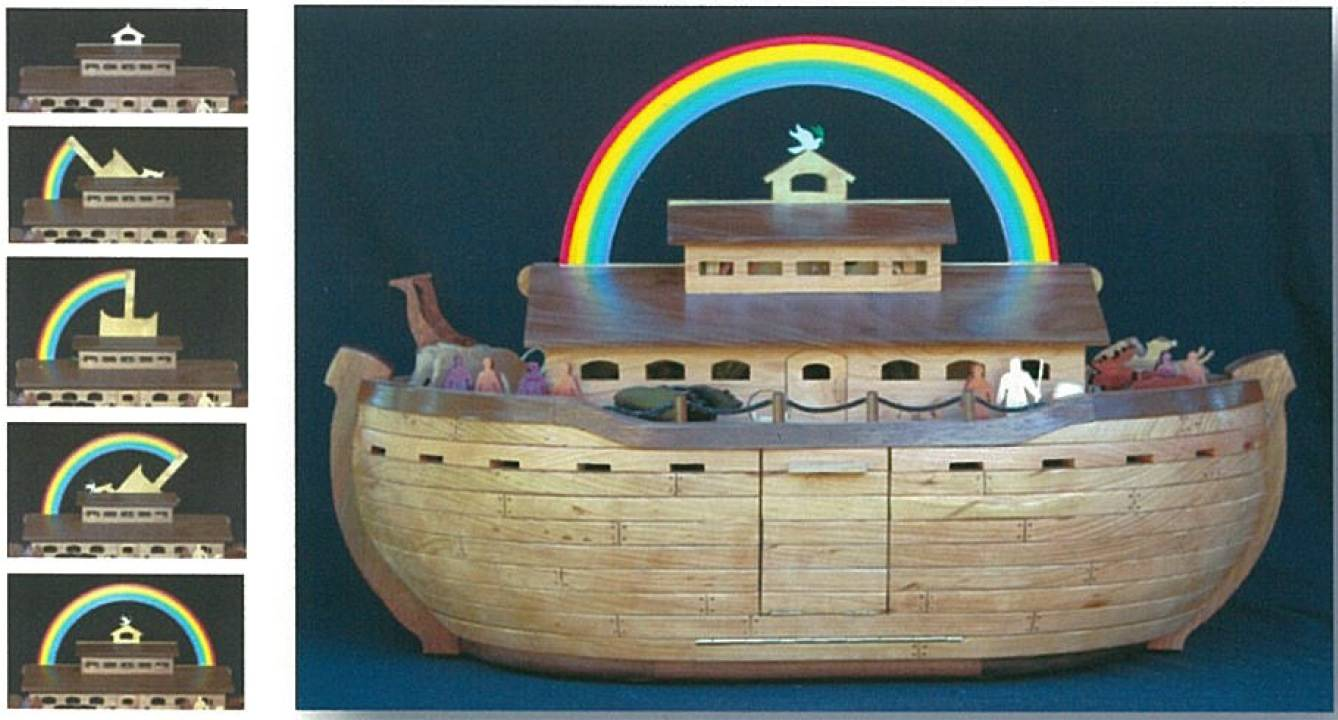 04-FS-156 - Noahs Ark Woodworking Plan.
