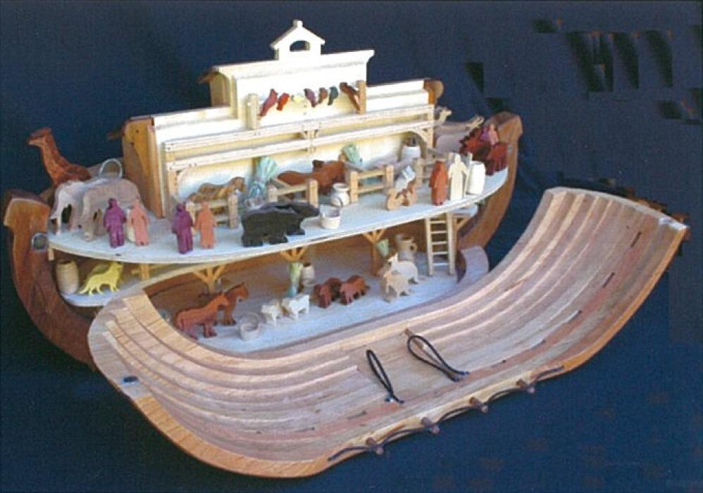 Noahs Ark Woodworking Plan.