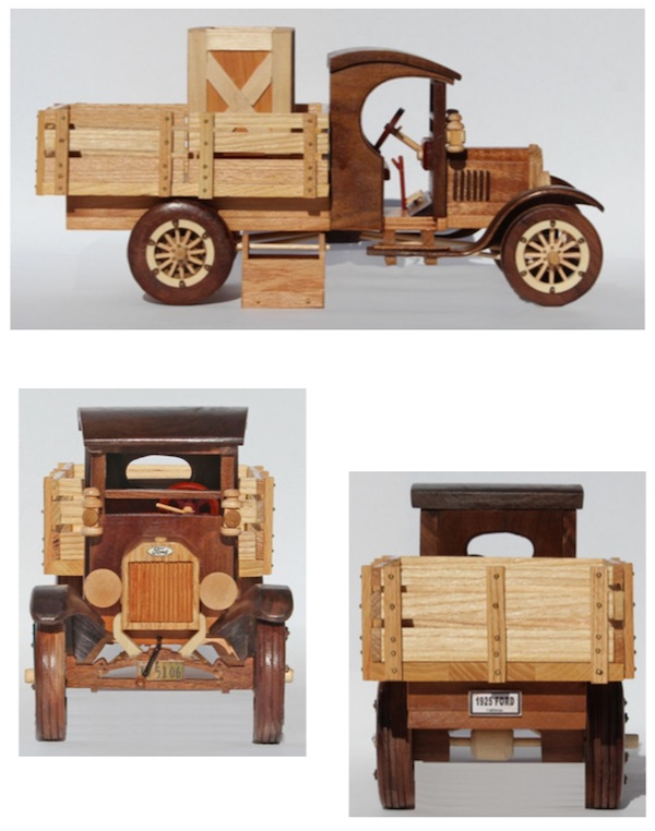 1925 Ford Model T Truck Woodworking Pattern