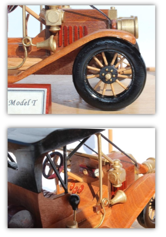 1910 Ford Model T Woodworking Pattern.