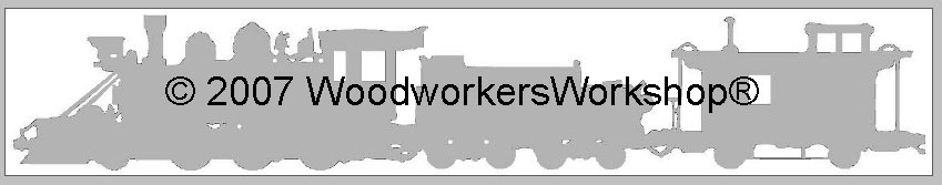 Coal Car and Caboose Train Scroll Saw Pattern