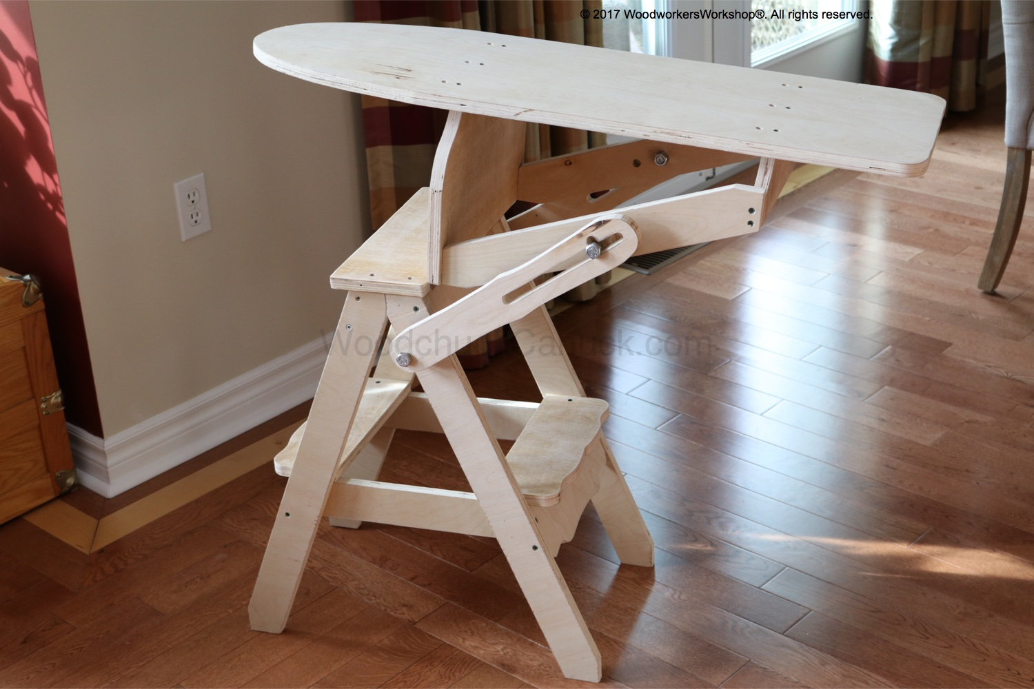 3-in-1 Chair Woodworking Plan