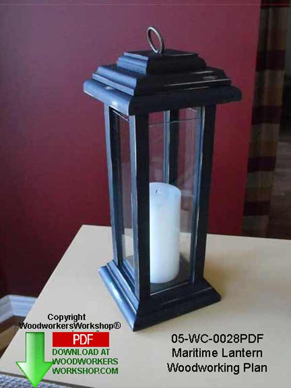 05-WC-0028 - Maritime Lantern Woodworking Plan