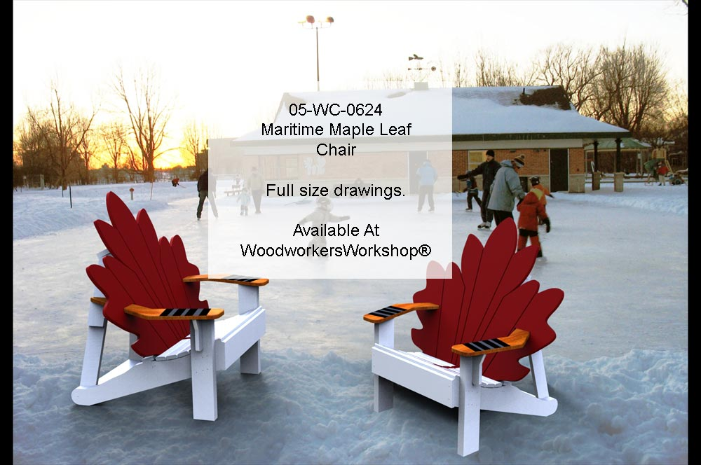 Maritime Maple Leaf Chair Woodworking Plan woodworking plan