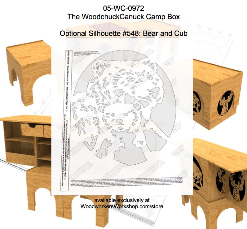 The WoodchuckCanuck Kitchen Camp Box Woodworking Plan