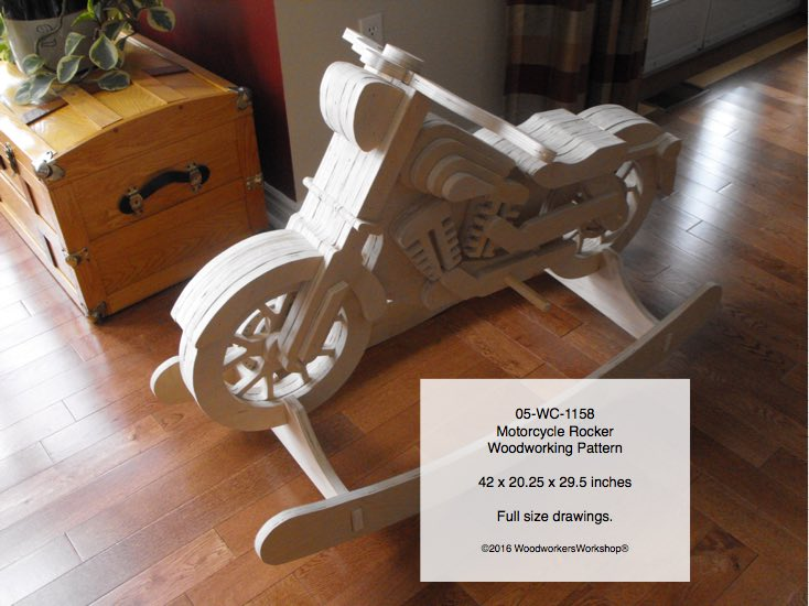 Motorcycle Rocker Woodworking Pattern woodworking plan