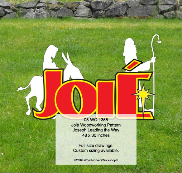 Joié Yard Art Woodworking Pattern