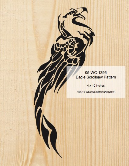 Eagle Scrollsaw Woodworking Pattern