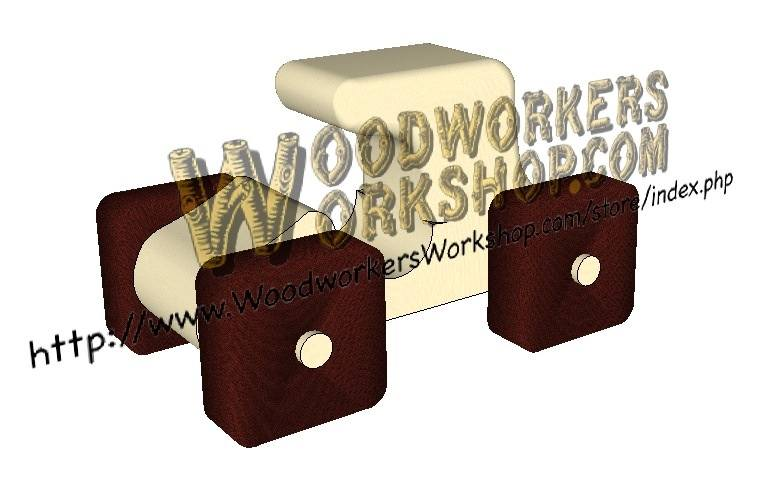The Model-T Back Massager Scrollsaw Woodworking Plan