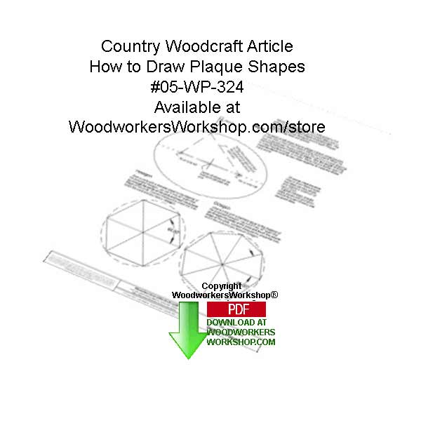 How to Draw Shapes Easily Downloadable Woodcrafting Article