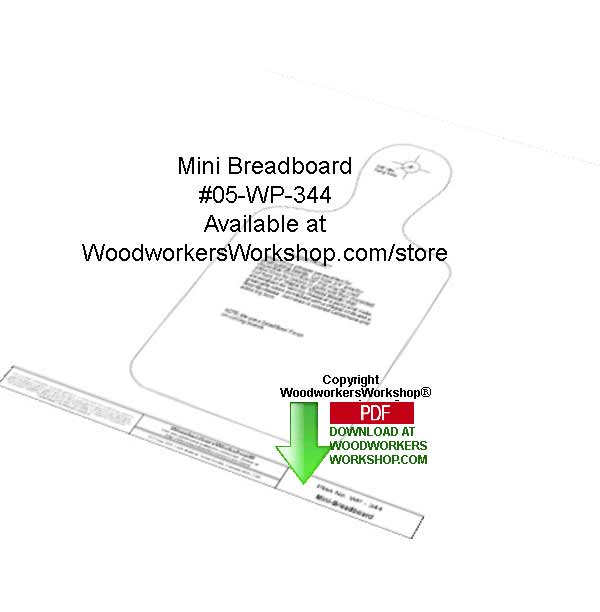 05-WP-344 - Mini Breadboard Downloadable Woodcrafting Article PDF